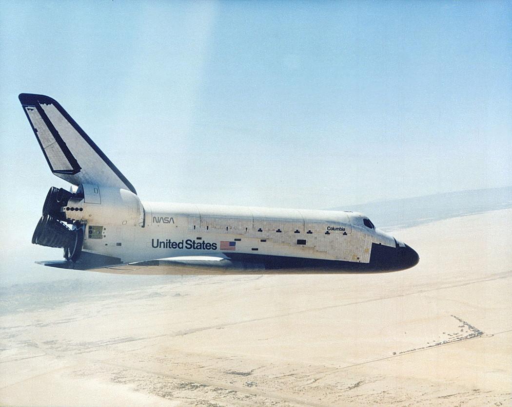 Image result for sts-1 landing