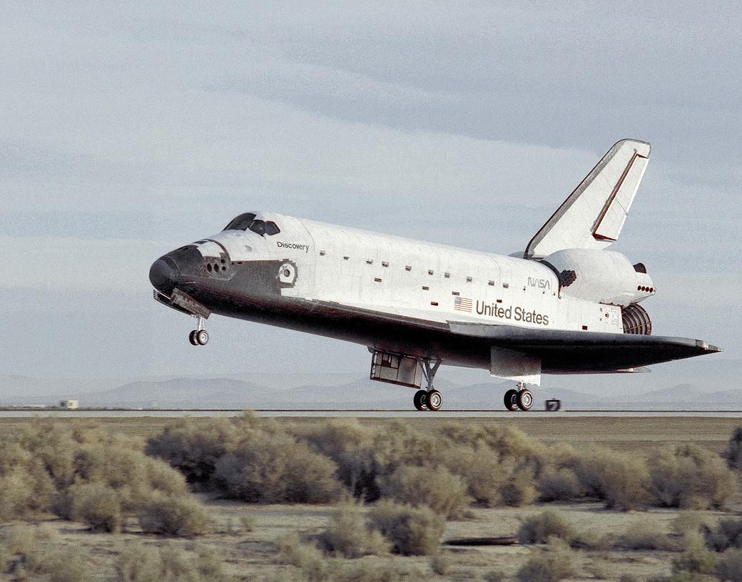 Image result for sts-29 landing