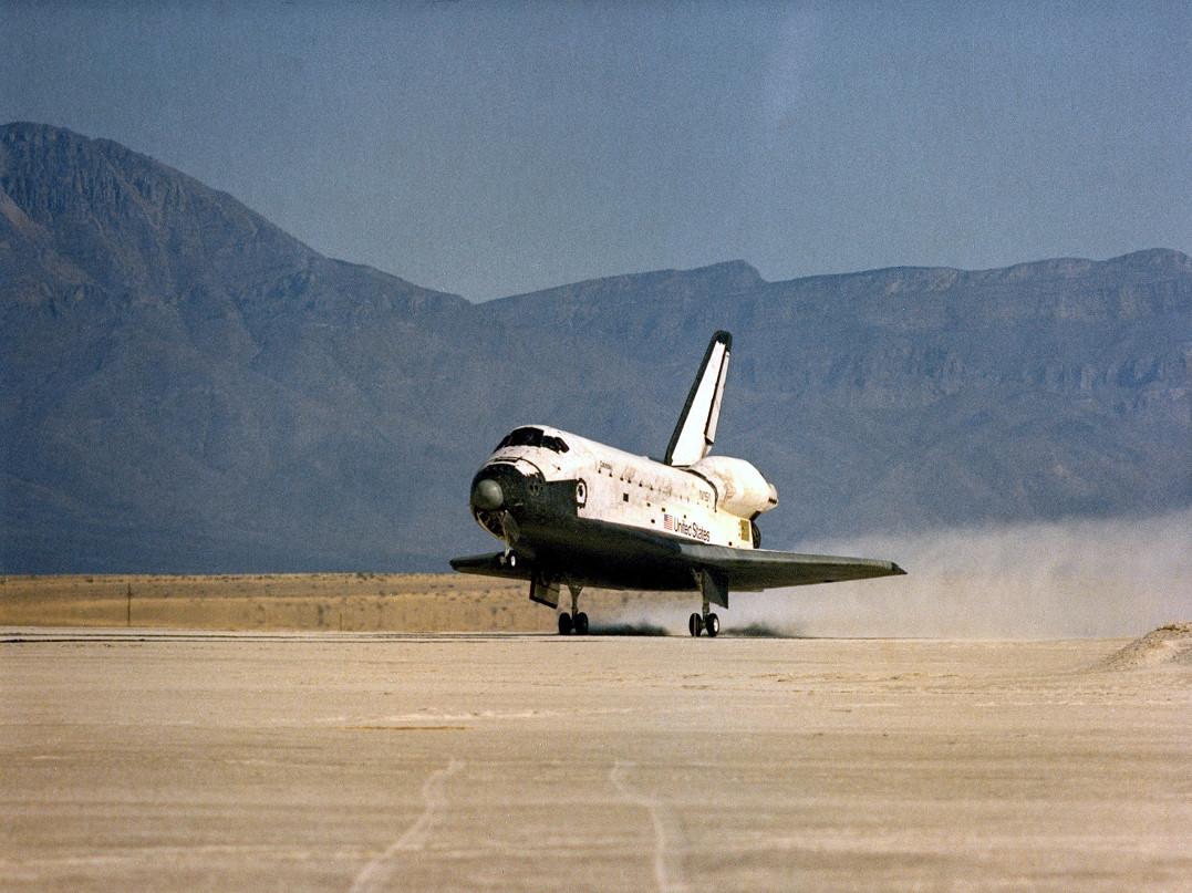 Image result for sts-3 landing