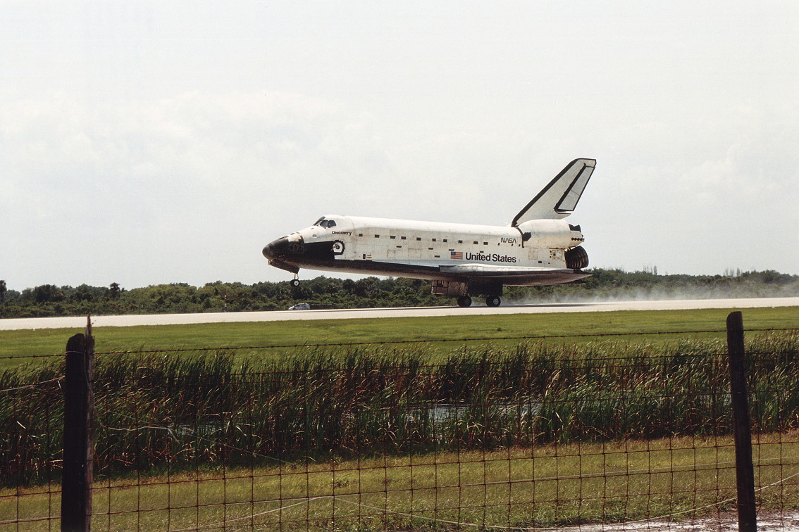 Image result for sts-39 landing