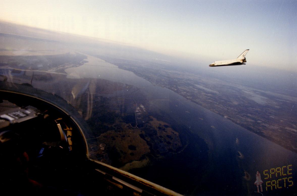 Image result for sts-41-b landing