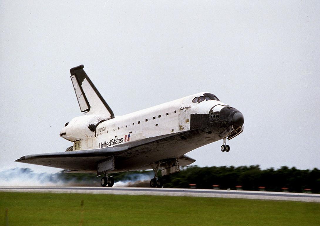 STS-78 landing