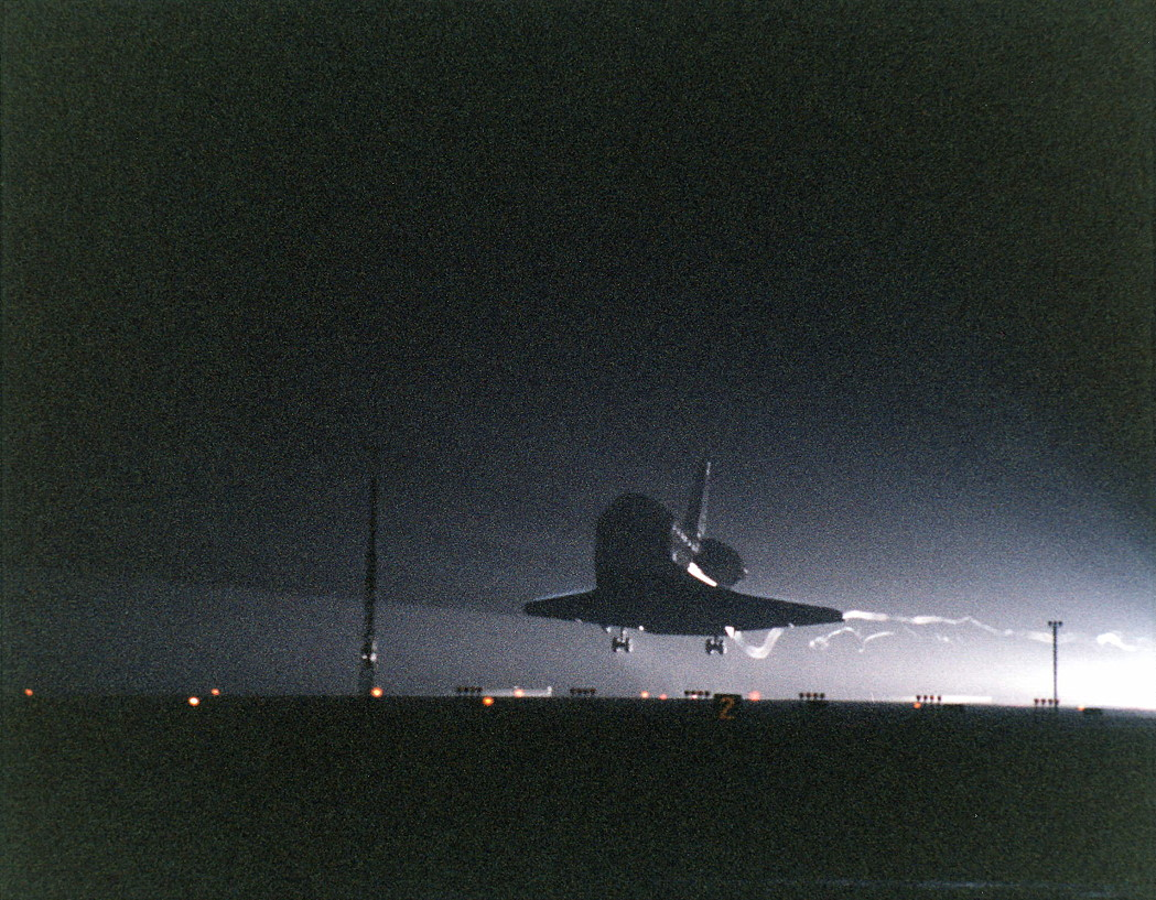 Image result for sts-82 landing