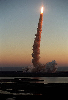 STS-102 launch