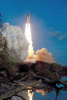STS-41B launch