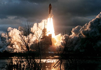 STS-74 launch