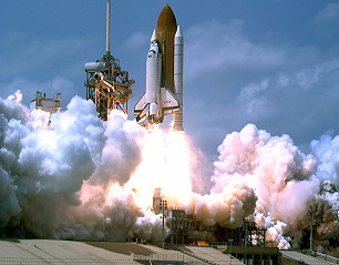 STS-90 launch