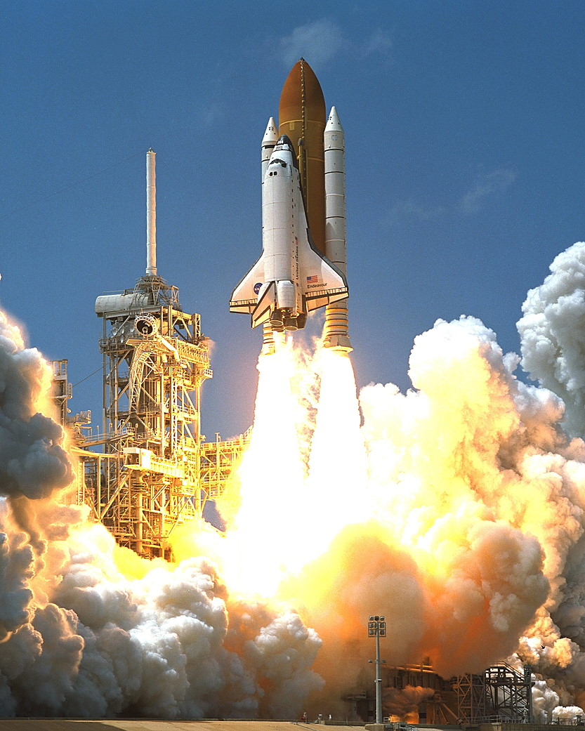 Image result for sts-100 launch