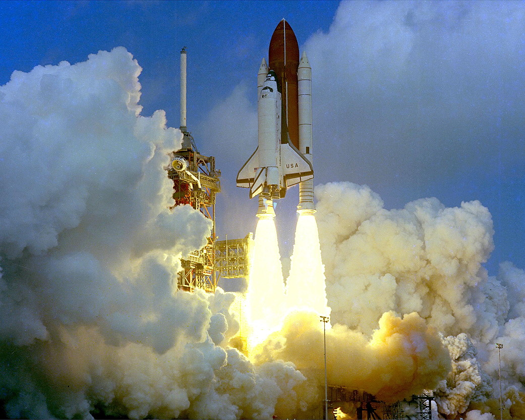 Image result for sts-3 launch