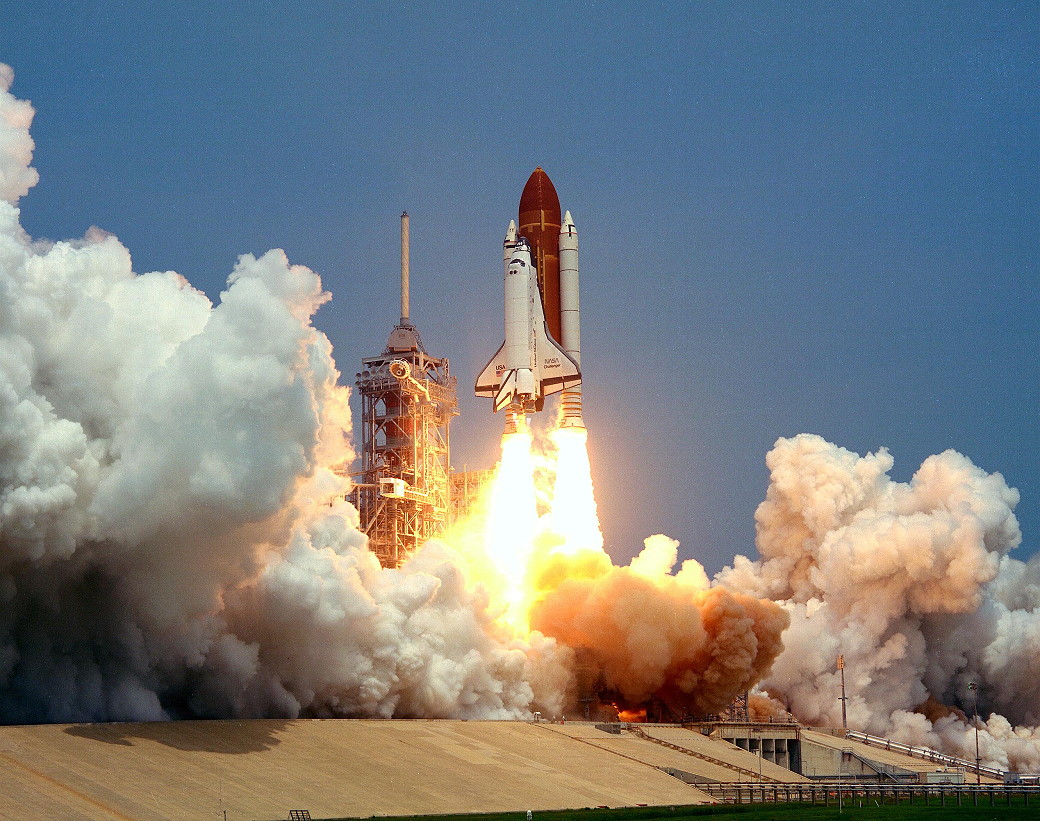 Image result for sts-51-b launch