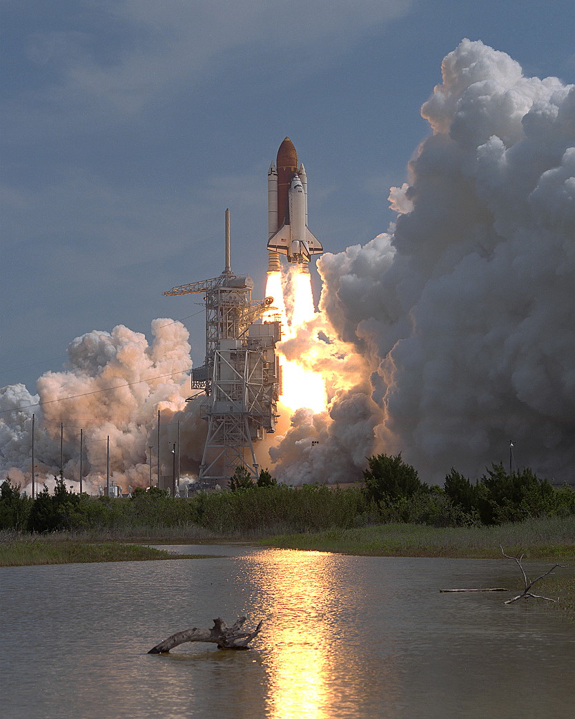 Image result for sts-55 launch
