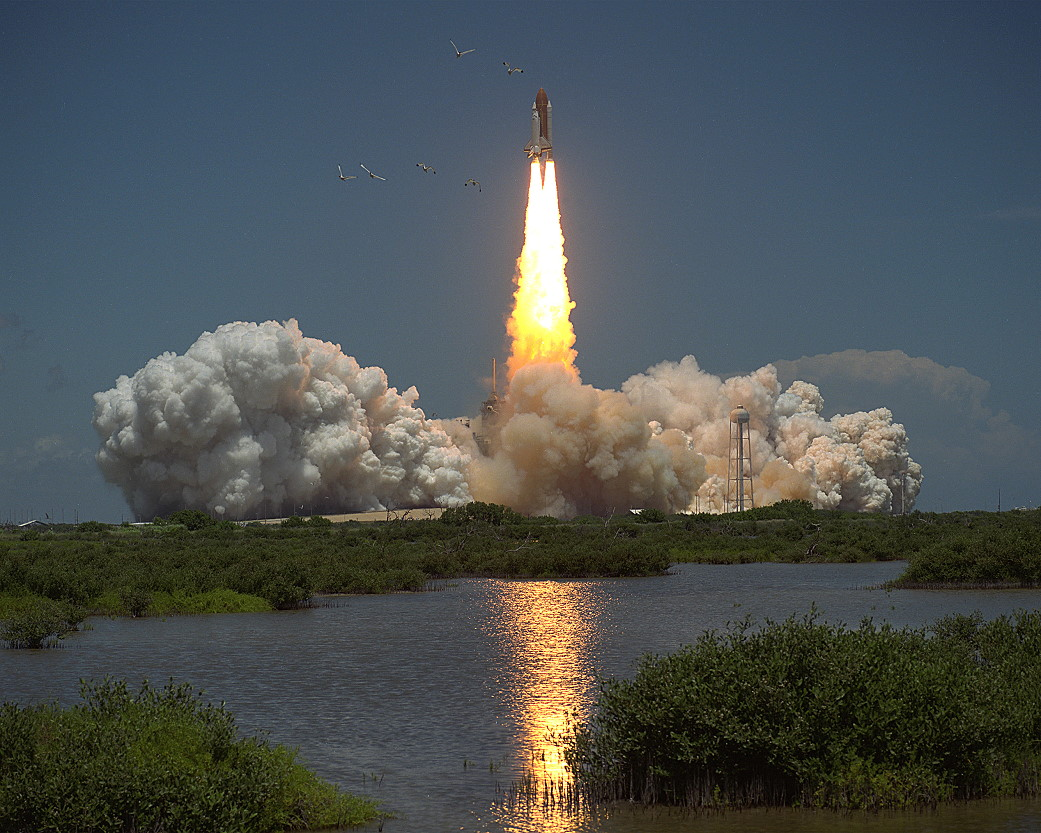 STS-65 launch