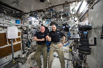 life onboard the ISS