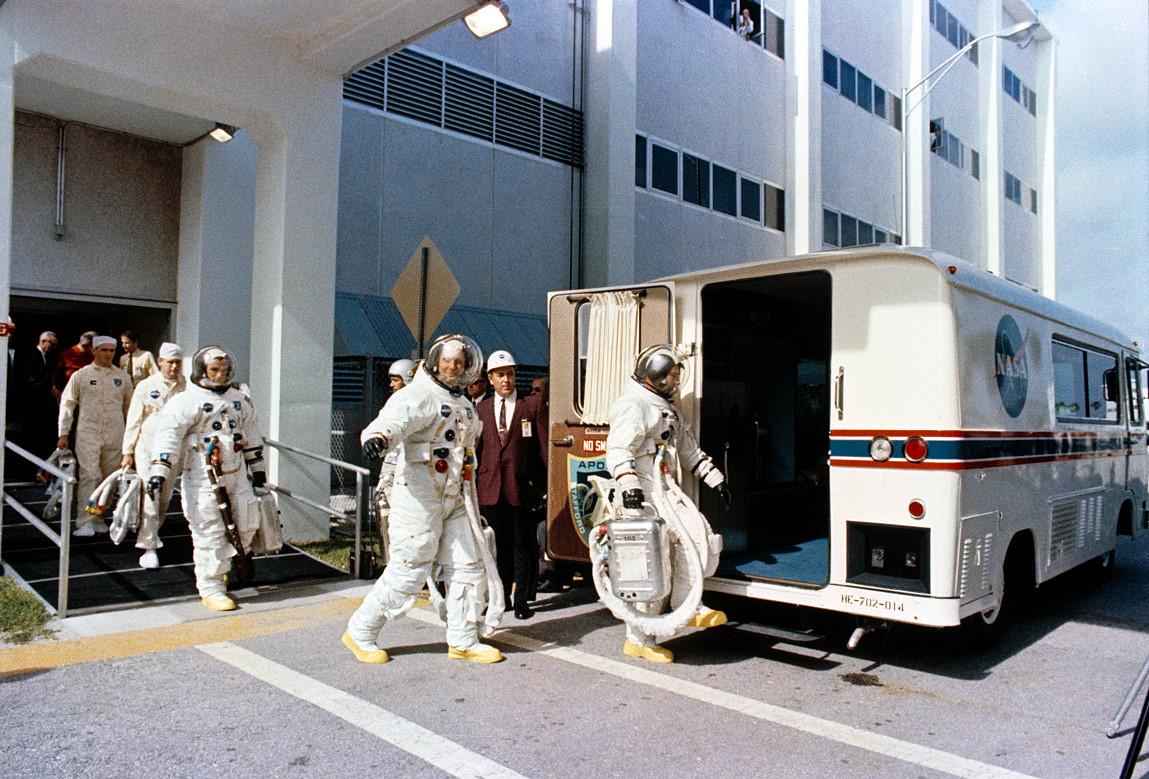 mercury 7 astronauts walking - photo #20