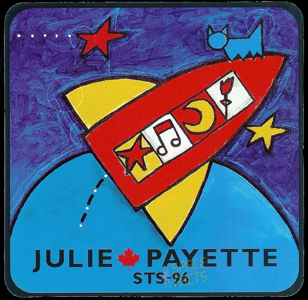 Patch Julie Payette STS-96