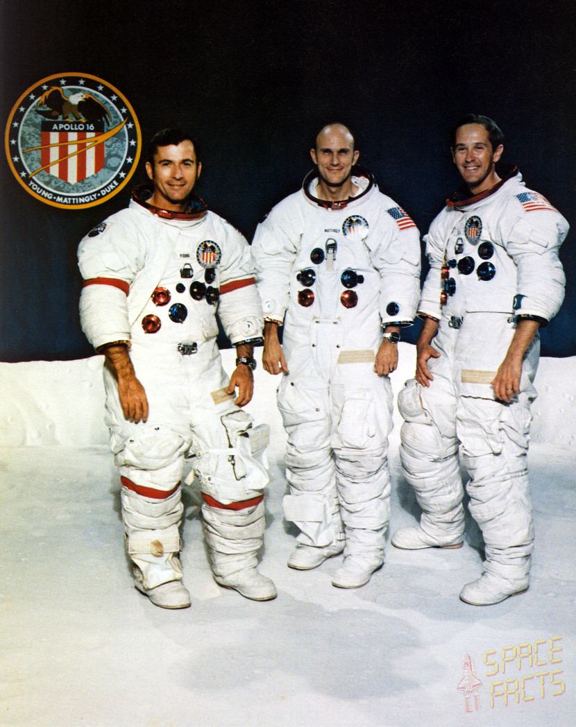 apollo 16 spacecraft names - photo #3