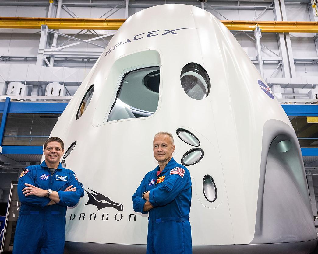 Falcon 9 • Crew Dragon DEMO-2 • 首次载人测试飞行 (待定)