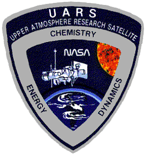 "SHUTTLE DISCOVERY STS-48 UARS MISSION   3 1//2/"" PATCH"