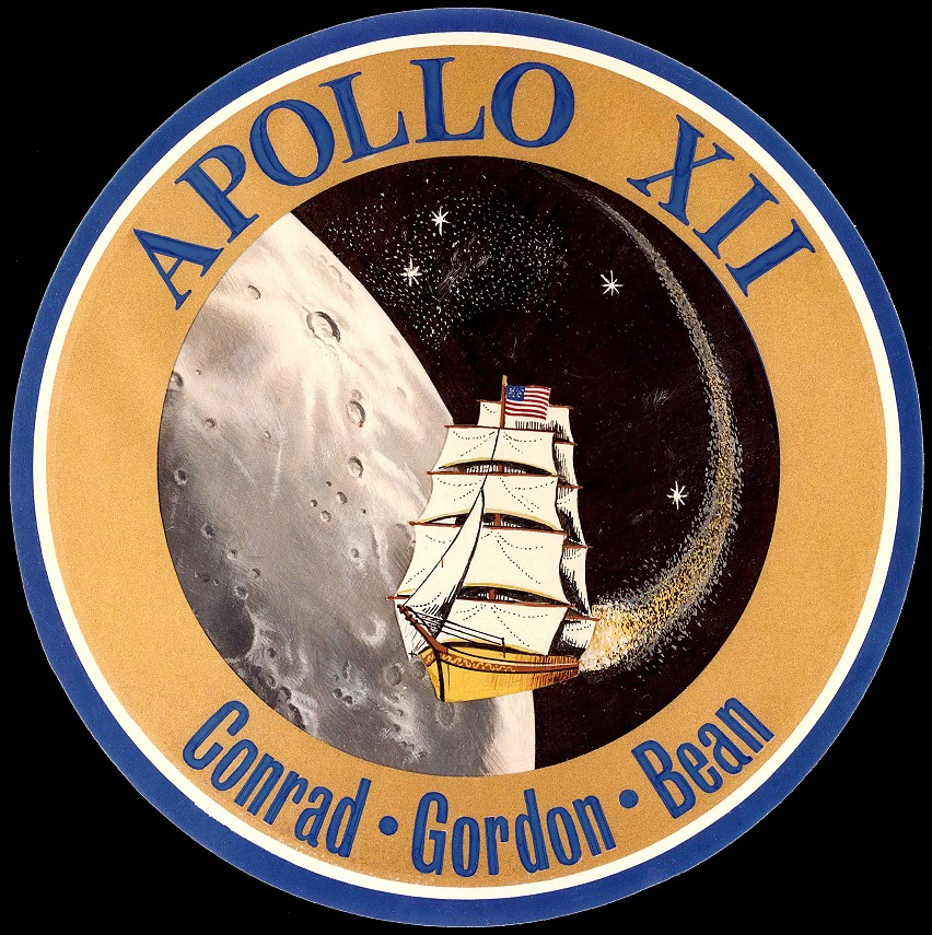Apollo 12 Logo Mission Report Apollo 12