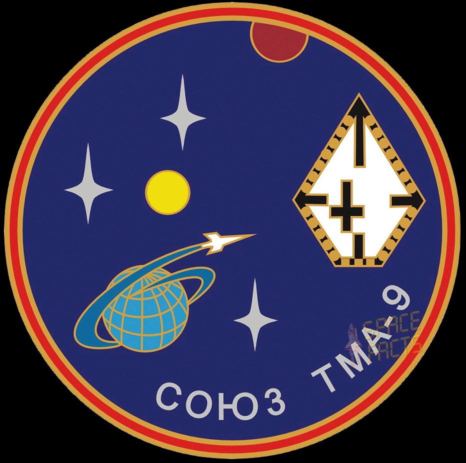 Animation assemblage ISS Soyuz-tma-9;jpg