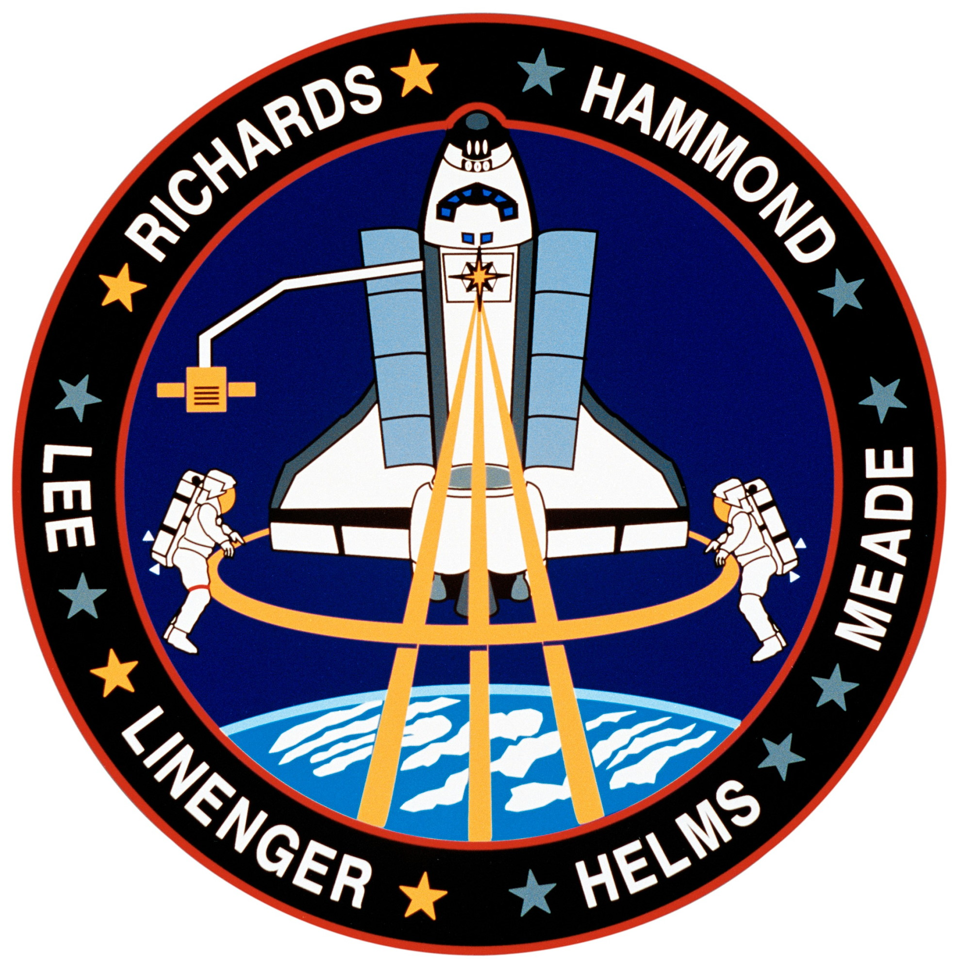 space shuttle mission logos - photo #23