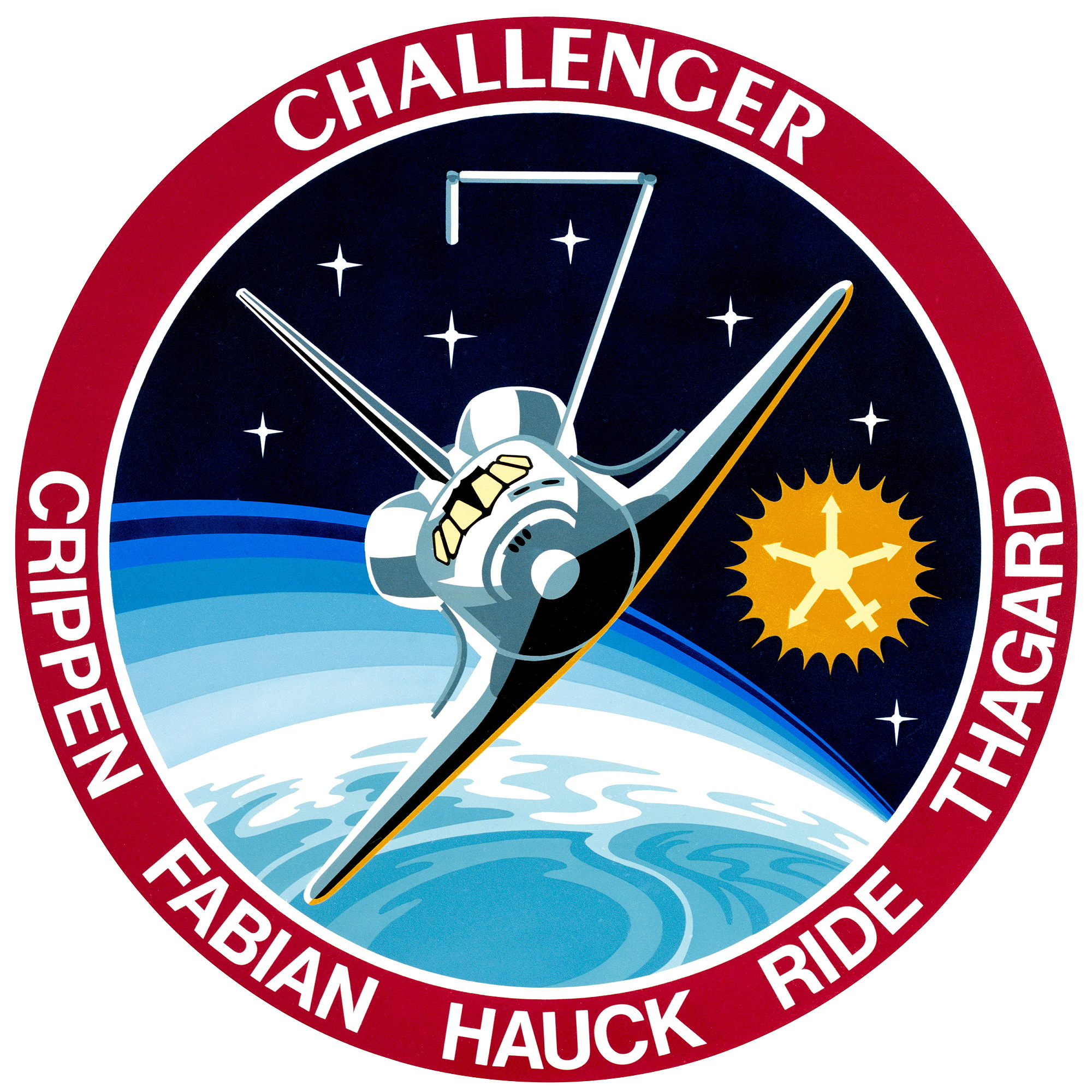 image about Printable Nasa Logo called Spaceflight mission article: STS-7