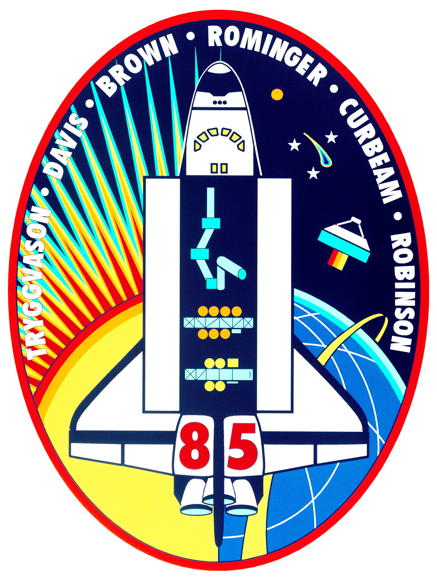 Spaceflight mission report: STS-85