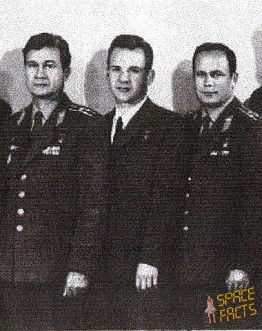 Crew Soyuz 4 and 5