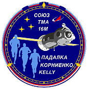 Patch Sojus TMA-16M